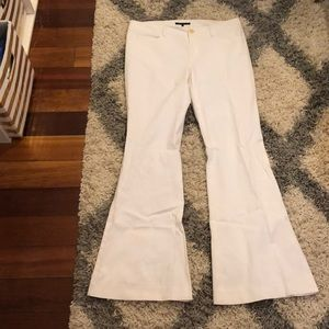 Theory White Trousers